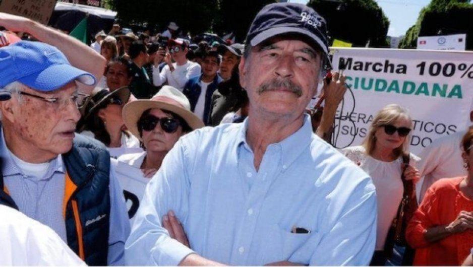 Revelan que es Vicente Fox el expresidente que debe impuestos al SAT