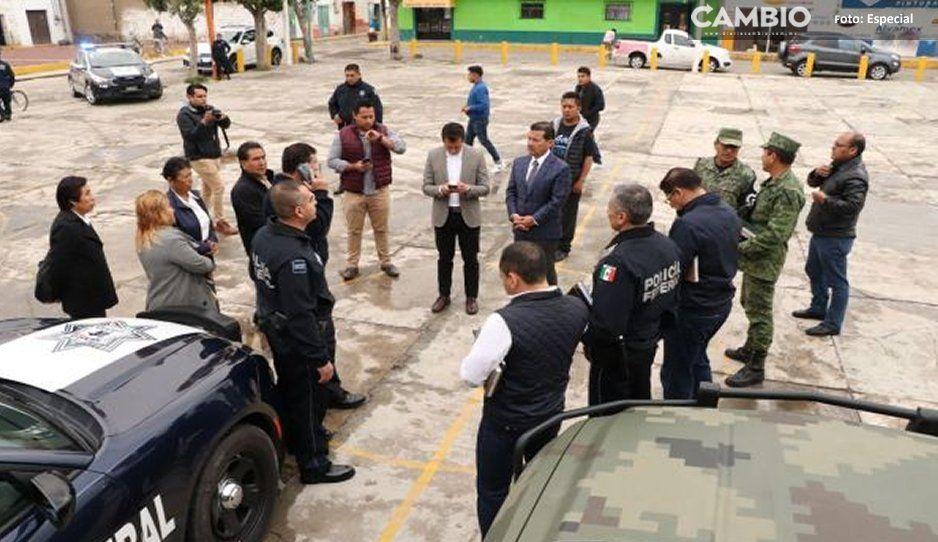 Intensifica gobierno de San Pedro Cholula estrategias de seguridad pública