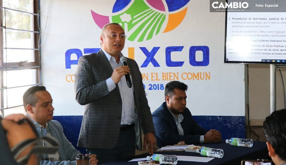 Gobierno de Atlixco cierra el año 2019 con 855 obras priorizadas
