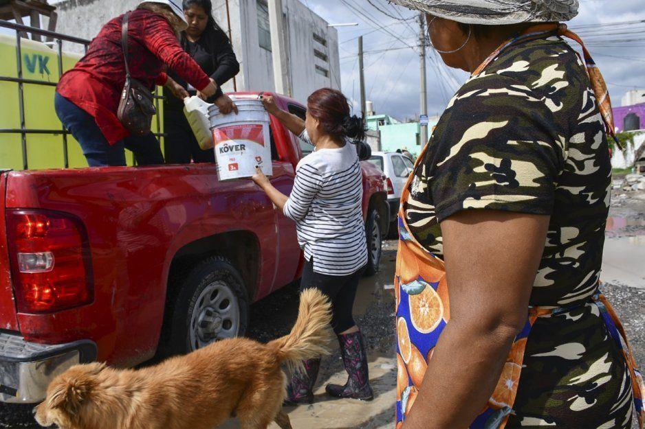Intensifica alcaldesa Lupita Daniel visitas a zonas afectadas por fuertes lluvias en Cuautlancingo