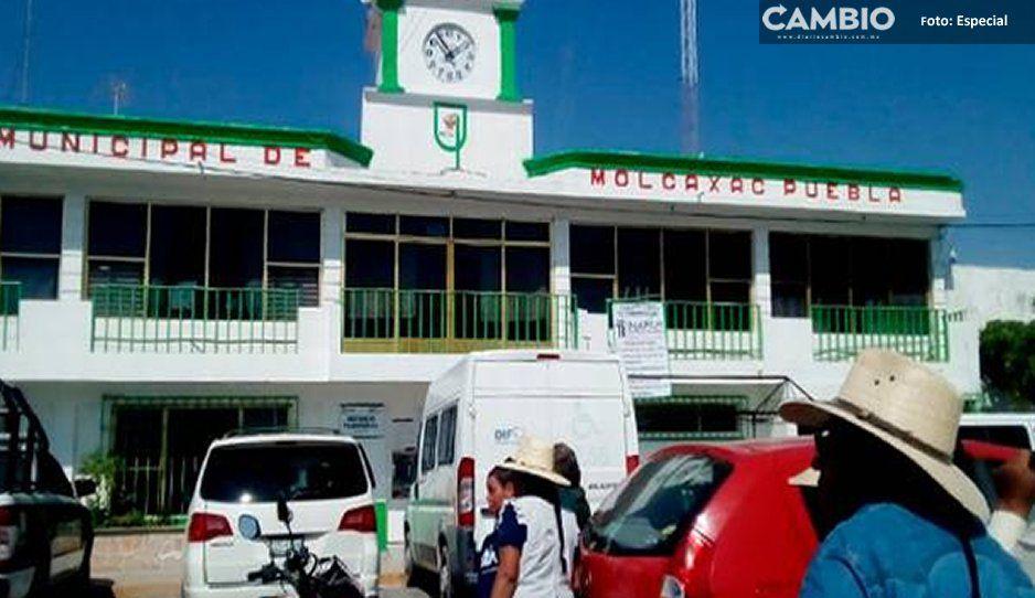 Secuestran a gasero en Molcaxac, implementan operativo para rescatarlo