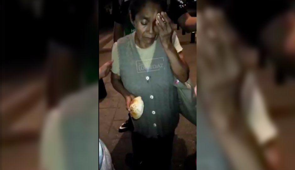 VIDEO: Unidad 216 del RUTA arrastra a señora de la tercera edad