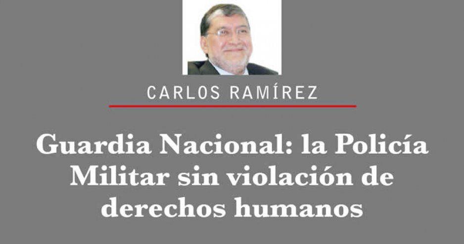Guardia Nacional: la Policía Militar sin violación de derechos humanos