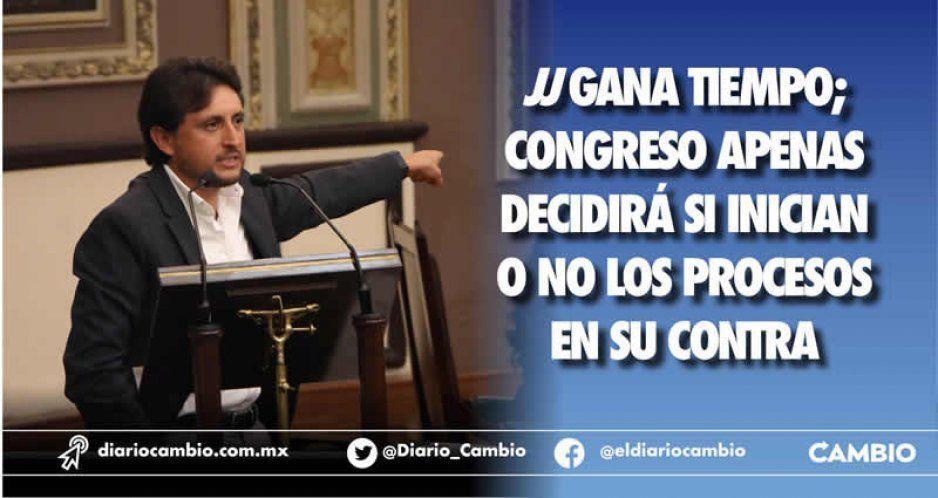 JJ gana tiempo; Congreso apenas decidirá si inician o no los procesos en su contra (VIDEO)
