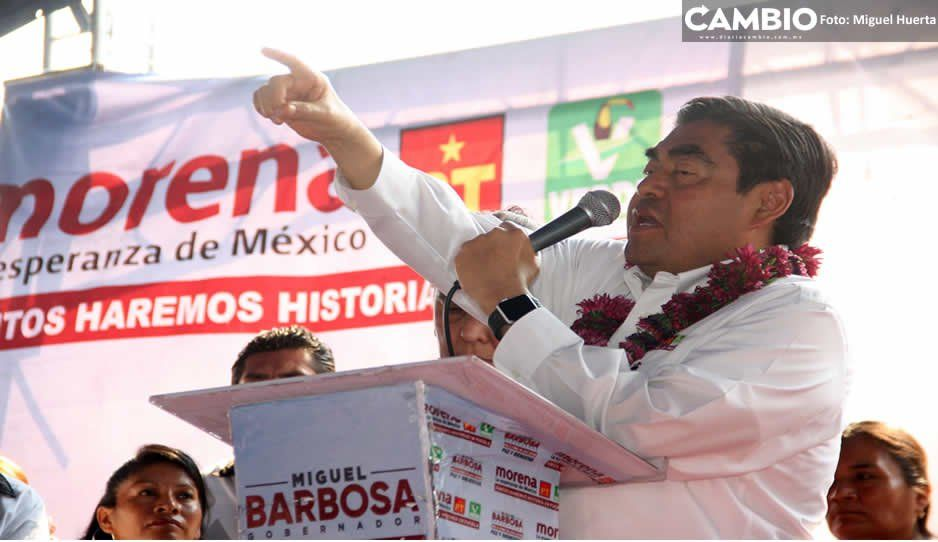 No repartiré puestos, son bienvenidos quienes vengan a trabajar: Barbosa