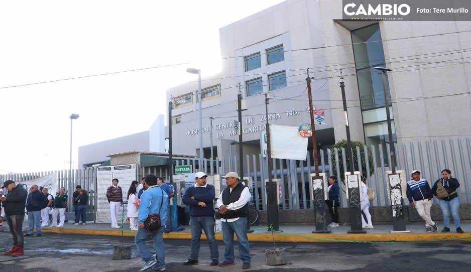 Hacinamiento en IMSS La Margarita es del 400 %, médicos hacen milagros