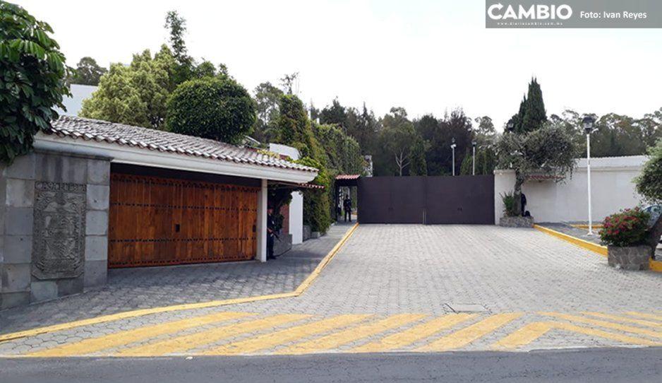 Casa Puebla permanece sin movimientos tras anunciar Barbosa que fue desmantelada (FOTOS)