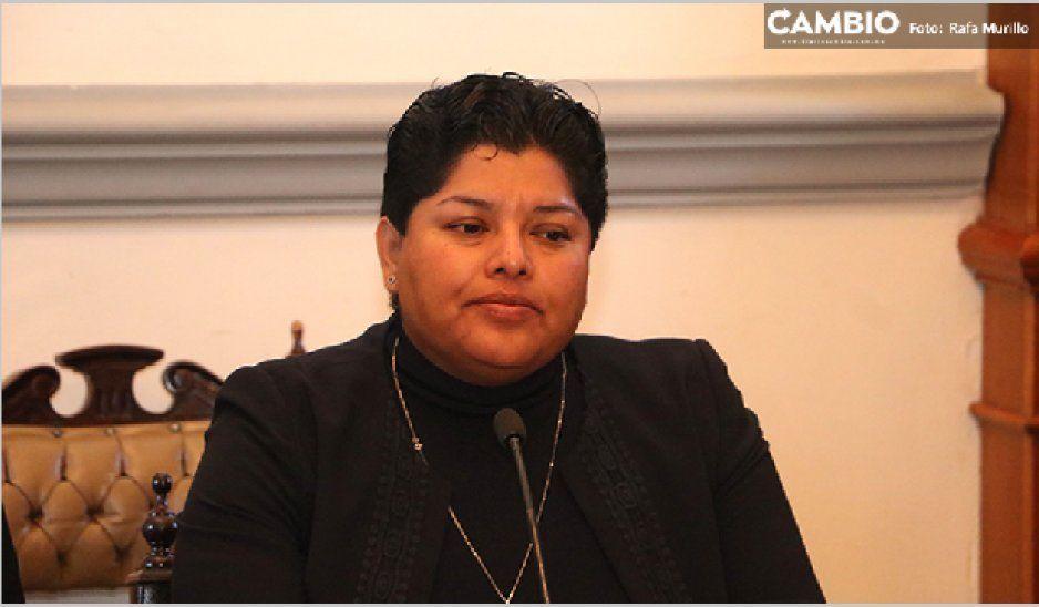 Asegura Karina Popoca que nunca ha dejado de respaldar a Barbosa para que repita como candidato de Morena