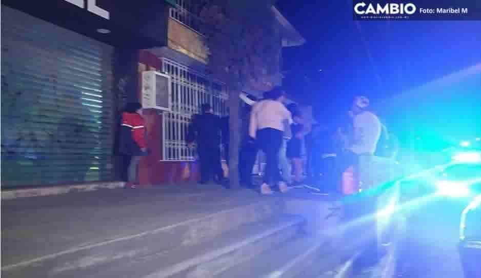 Asaltante va a dar al hospital tras ser golpeado brutalmente por vecinos de Bosques de Manzanilla