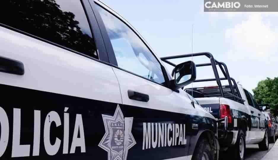 Detienen a agresor de policías en Tianguismanalco