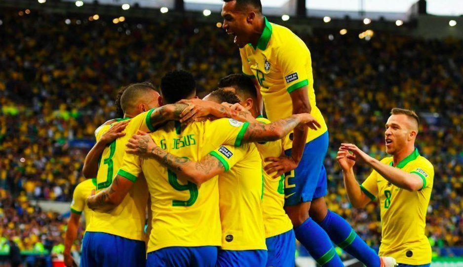 Brasil se queda con la Copa América 2019 venciendo 3-1 a Perú