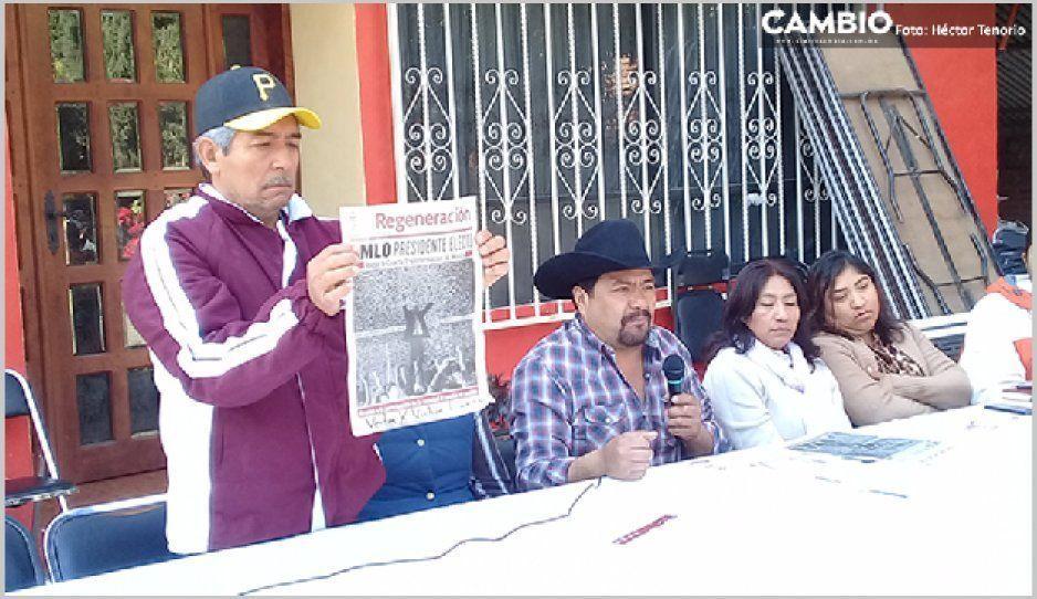 Ex candidatos a la presidencia auxiliar de Xalmimilulco buscan impugnar las elecciones