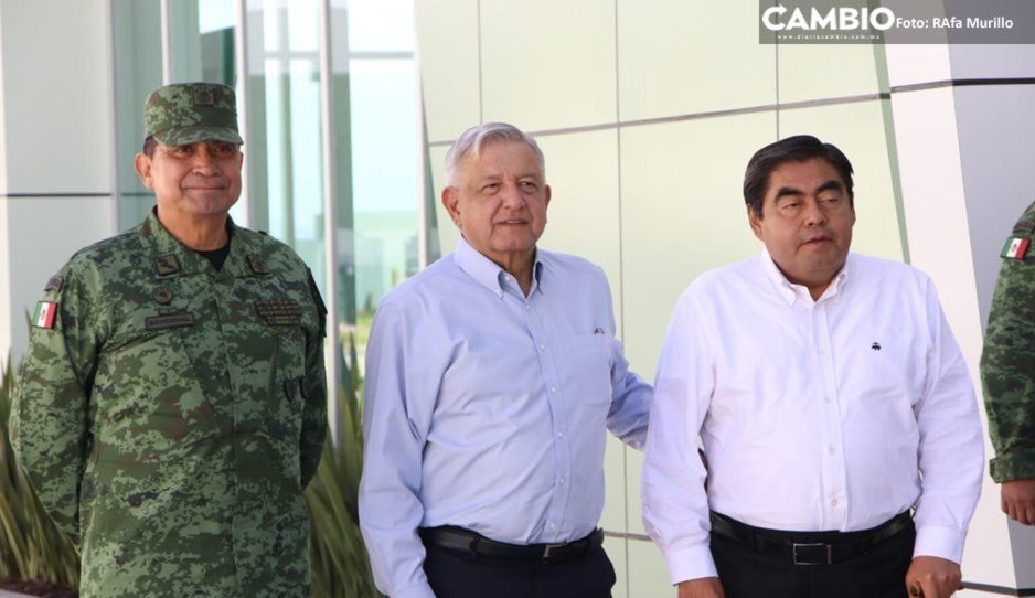Barbosa hace un llamado a los poblanos para que acudan al zócalo de Cdmx para celebrar el primer año de gobierno de AMLO