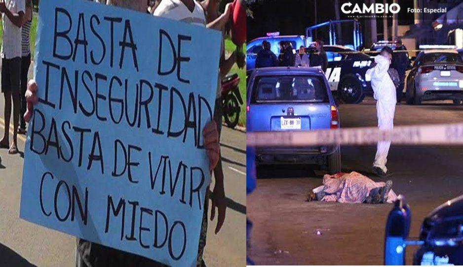 ¡Gracias a Claudia! Puebla se percibe como la ciudad más insegura del país