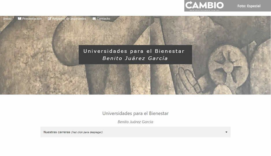 Lanzan convocatoria para contratar docentes en universidades de AMLO