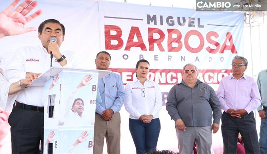 Promete Barbosa dividir Secretaría de Infraestructura, Movilidad y Transporte