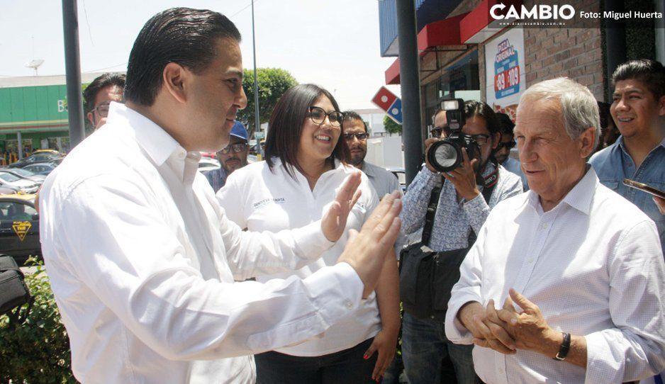 Damián Zepeda viene a apoyar a Cárdenas, pero lo corrige sobre RMV: era intachable