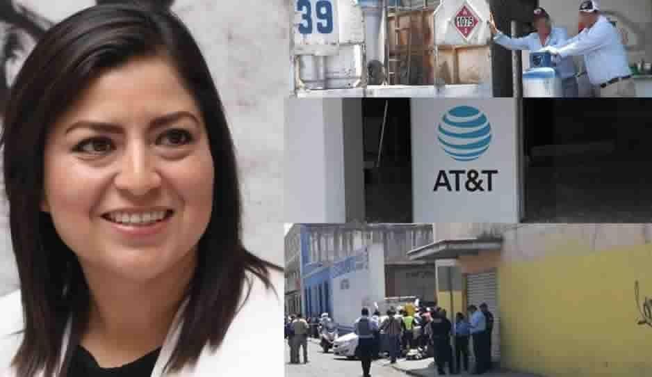 Claudia pensando en ir a China y en Puebla hay asaltos y balacera