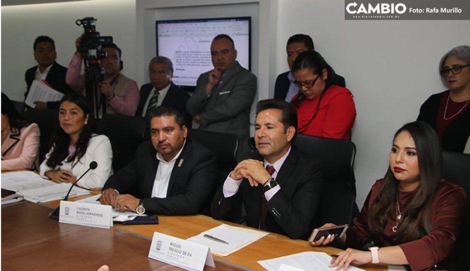 Aprueba Congreso que municipios de Puebla se unan al Martes Ciudadano de Barbosa