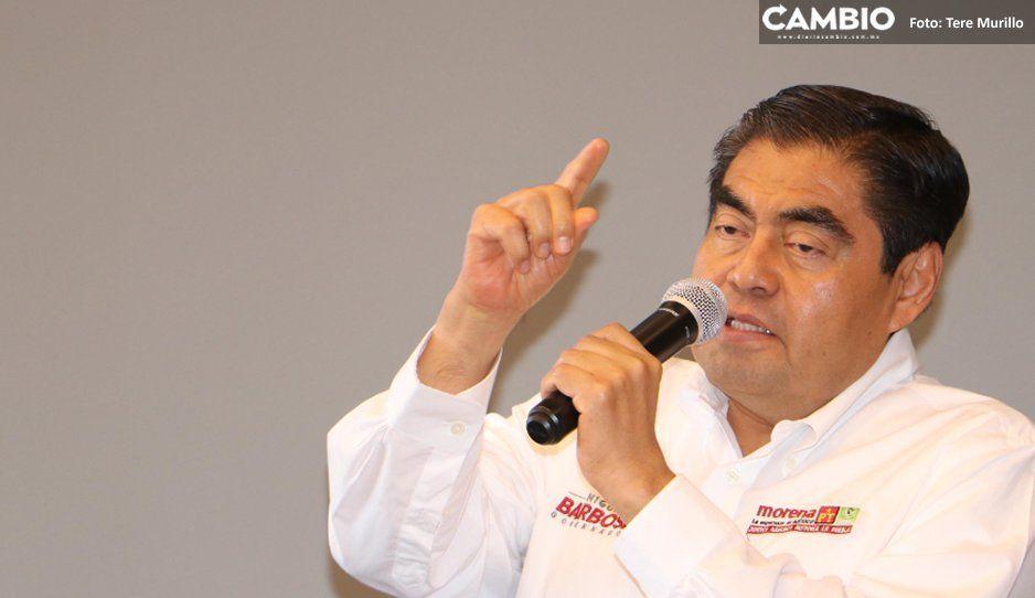 Barbosa urge detención del Grillo para generar una jornada electoral pacífica