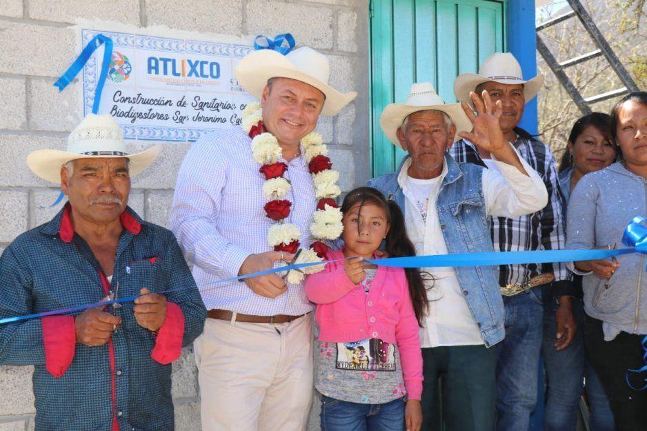 Gobierno de Atlixco mejora la calidad de vida para las familias de San Jerónimo Caleras