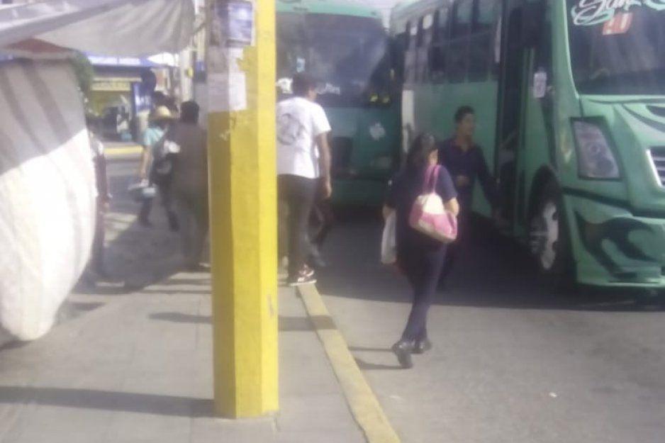 Sujetos armados asaltan a pasajeros de la ruta Tlahuapan -Texmelucan