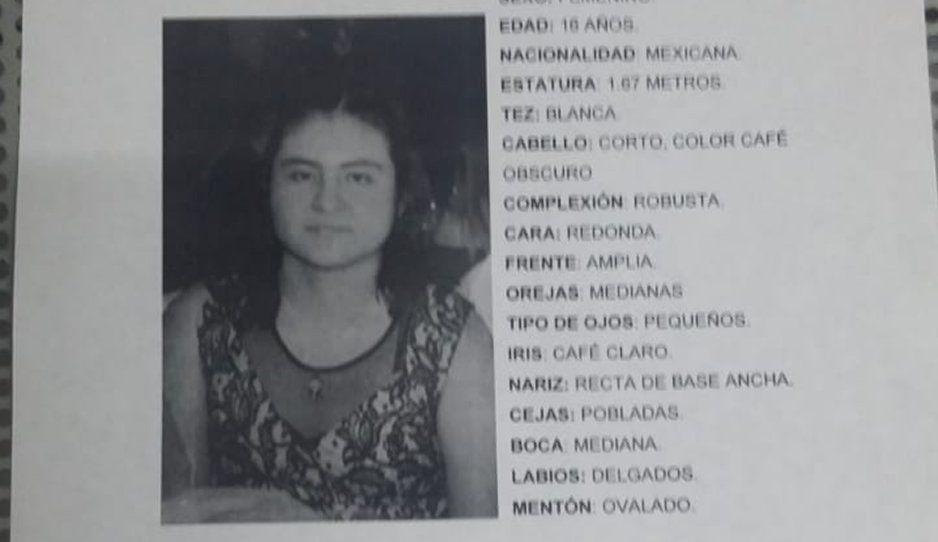 Localizan a Josselin Ingrid, estudiante perdida del Bachillerato Oficial José María La Fragua