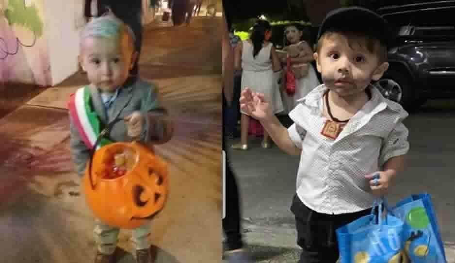 Amlito y Chapito se enfrentan en disfraz de Halloween ¿a quién prefieres?