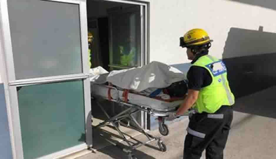 Muere tras sufrir una caída en estacionamiento de la 14 Poniente