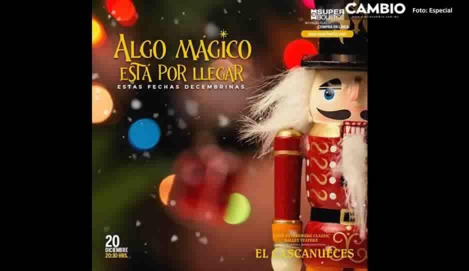 Alístate para clásico navideño: El Cascanueces llegará a CCU el 20 de diciembre
