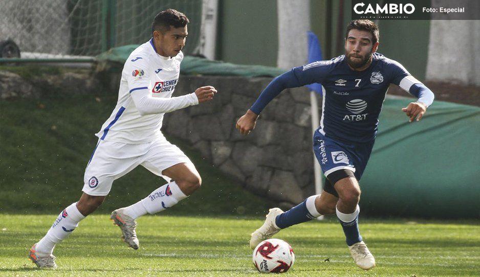 Puebla empata en partido de pretemporada contra Cruz Azul
