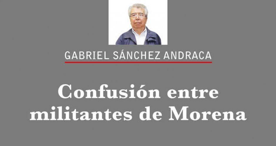 Confusión entre militantes de Morena