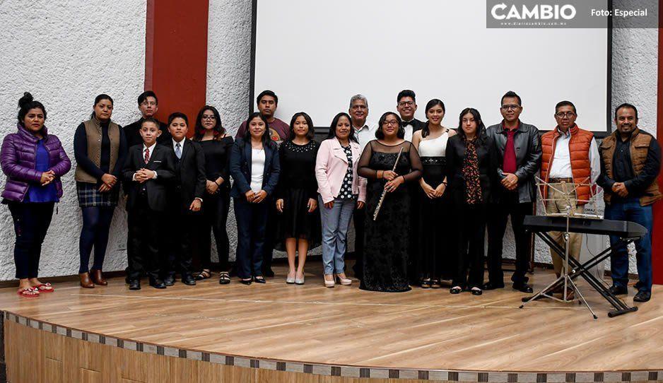 Invita Ayuntamiento de Cuautlancingo a formar parte de la Orquesta Sinfónica Infantil y Juvenil