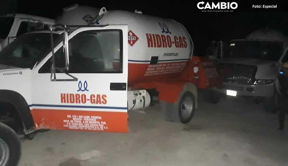 Frustran ordeña de ducto en Amozoc; huachigaseros se dieron a la fuga