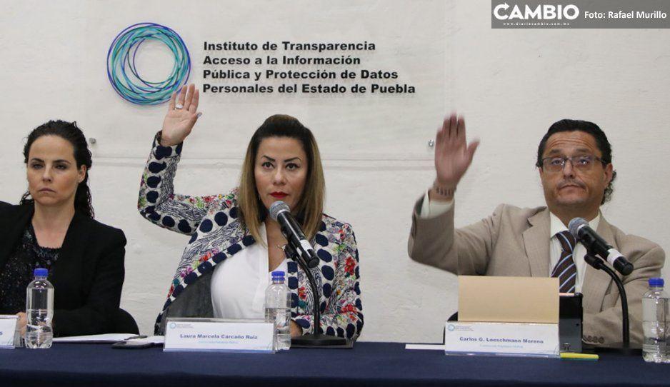 Itaip reprueba a Morena, PAN y PRI  por falta de transparencia en portales web