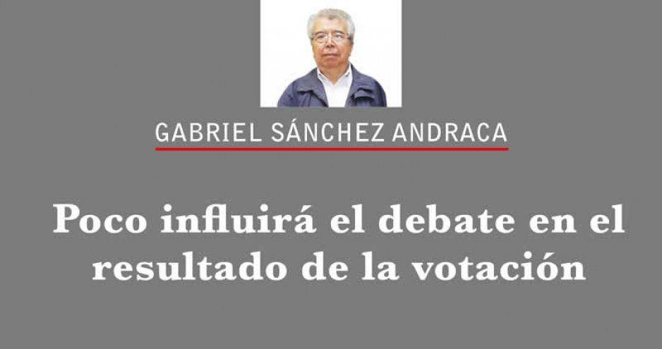 Poco influirá el debate en el resultado de la votación