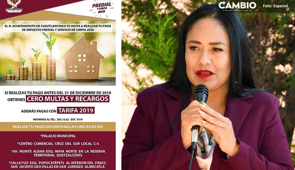 Ayuntamiento de Cuautlancingo lanza intensa campaña de recaudación del impuesto predial