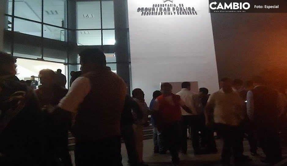 Detienen a tres asaltantes de taxistas en Cuautlancingo