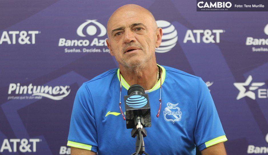 La deficiencia que ha tenido La Franja será resuelta porque debemos ganar vs Pumas: Chelís