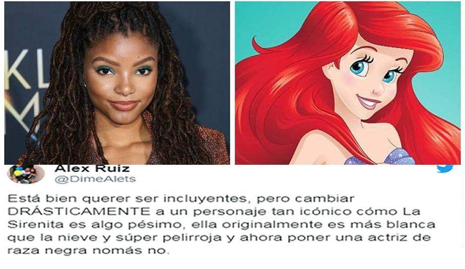 ¡Racistas! Critican a la nueva Ariel en La Sirenita por ser de piel morena