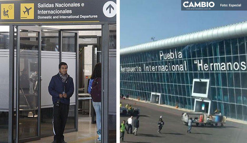 Chino que llegó al aeropuerto de Huejotzingo no tiene coronavirus, asegura Secretaría de Salud