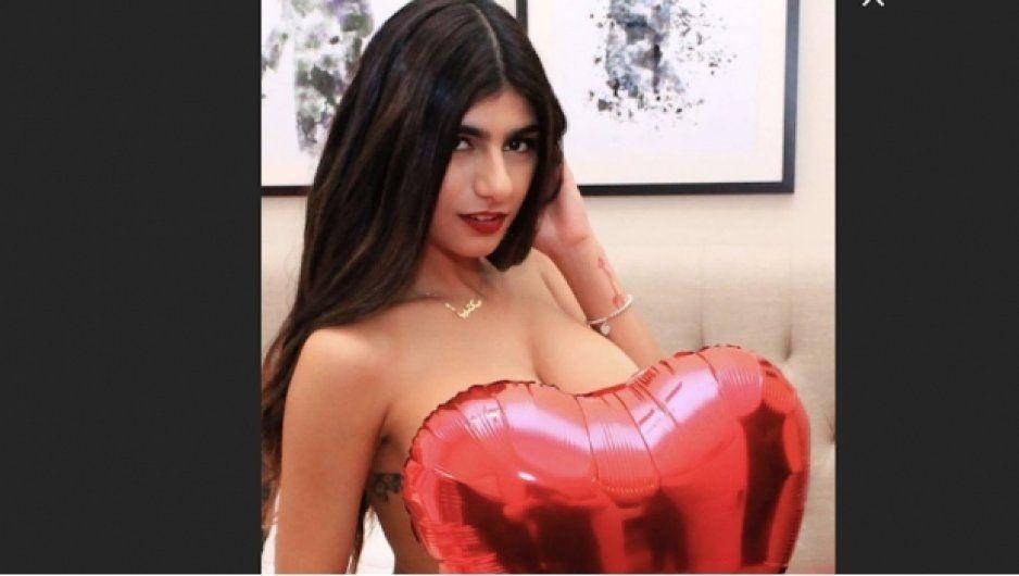 Mia Khalifa celebra porno San Valentín con cachondo regalo para sus fans