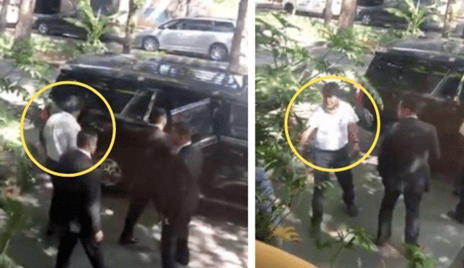 Evo Morales sale de lujoso restaurante con guaruras patrocinados por AMLO (VIDEO)