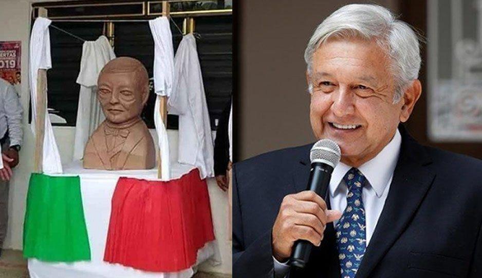 Escultor del busto de Benito Juárez ya trabaja en su nueva obra, ahora va el de AMLO