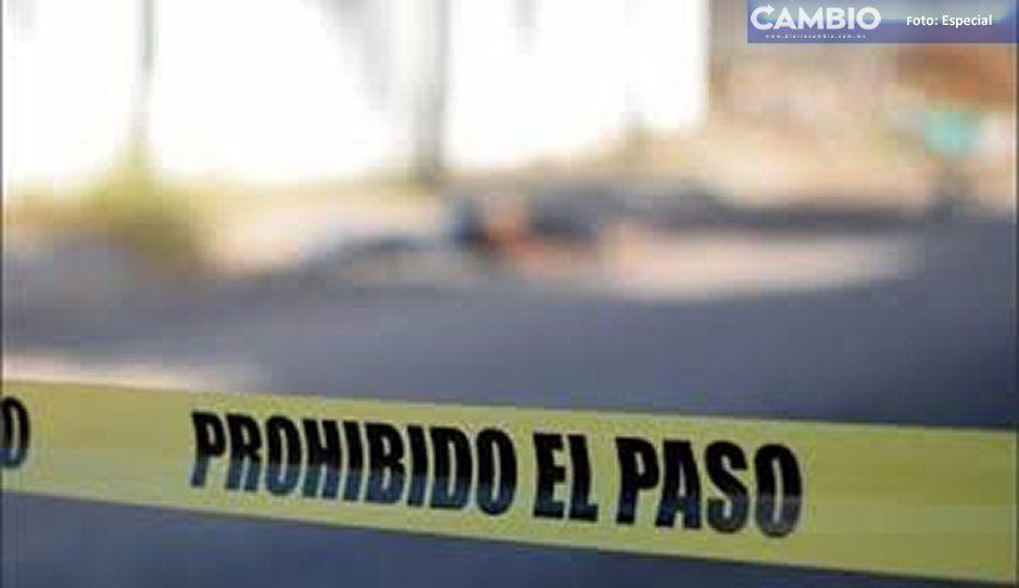 Ejecutan a hombre de varios disparos en Tecamachalco