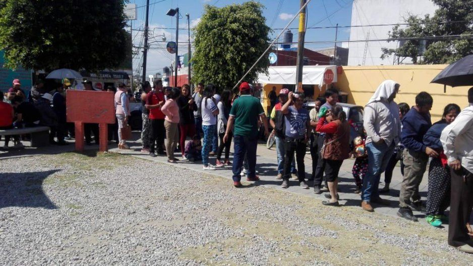 Caos y desorganización en las elecciones de las juntas auxiliares de San Pedro Cholula