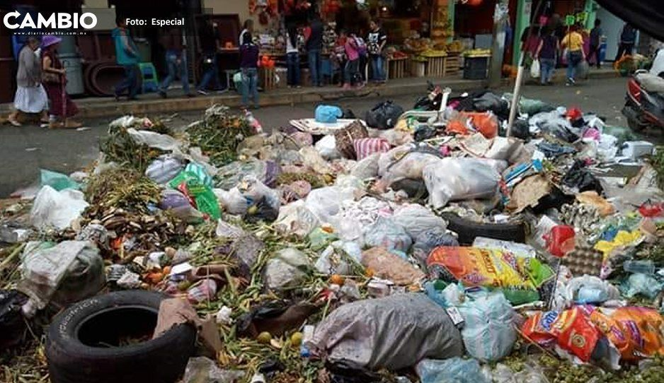 Rechazan auxiliares de Huauchinango  construcción de otro basurero municipal