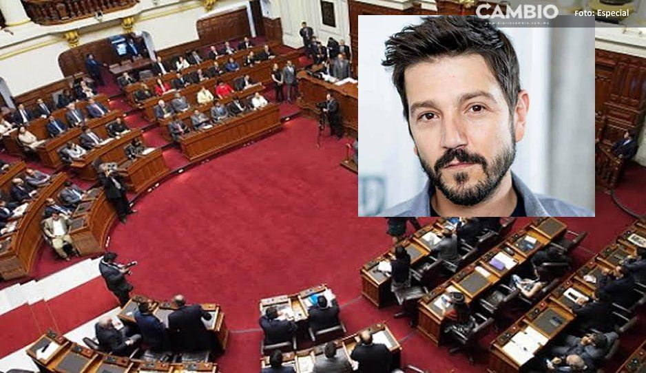 Es una vergüenza, así les responden congresistas a Diego Luna
