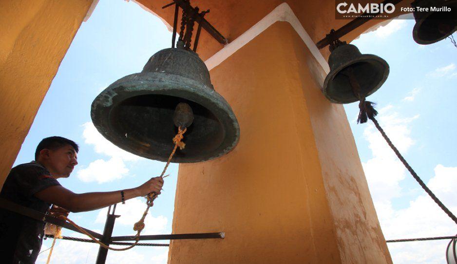 Campanas de templos del Centro Histórico repican en memoria de las víctimas del 19-S