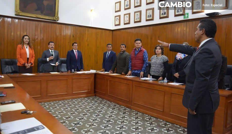 Nombra Cabildo de San Pedro Cholula a Nahún González como nuevo tesorero